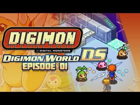 Digimon world ds ep 1 first digimon digifarm