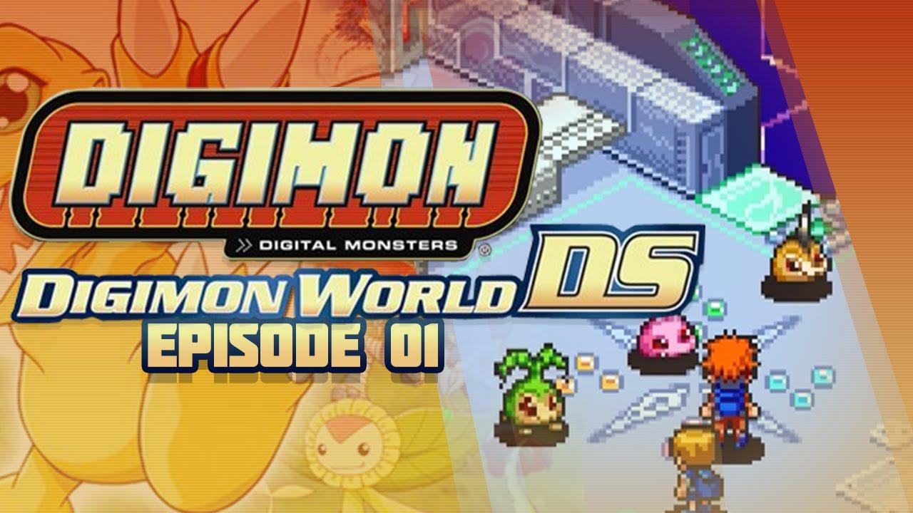 Digimon World DS - Ep 1 - First Digimon & DigiFarm!
