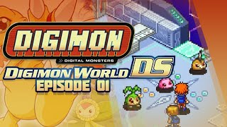 Digimon World DS - Ep 1 - First Digimon & DigiFarm!