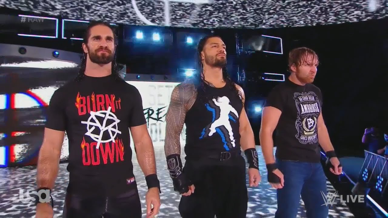 Download Edited WWE The Shield Reunite Entrance Arena Effects RAW