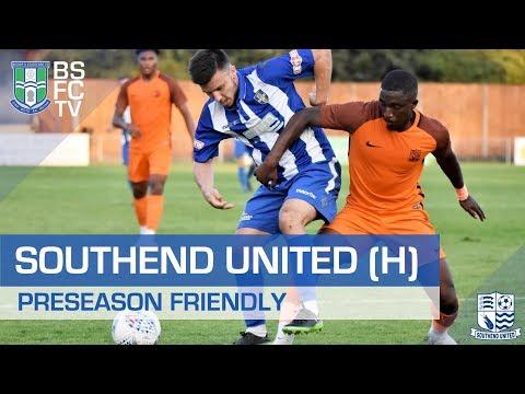 SOUTHEND UNITED (H) | PRESEASON FRIENDLY