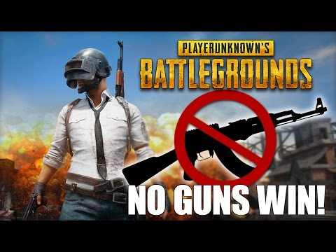 Battlegrounds Pacifist Mode: No Weapons! - WINNER WINNER