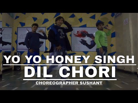 Yo Yo Honey Singh DIL CHORI DANCE . TUTORIAL Choreo Sushant   Simar Kaur, Ishers Hans Raj Hans #D