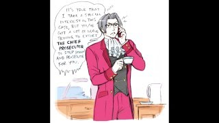 Took Edgeworth about three seconds to show up