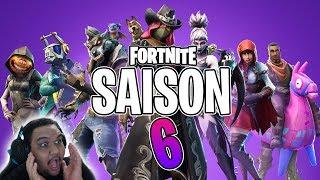 FORTNITE SAISON 6 - NOUVEAU PASSE DE COMBAT, SKINS, MAP (Saison 6 Battle Royale)