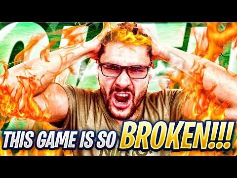 THIS GAMEPLAY IS SOOO BROKEN !! MY WORST RAGE FROM FIFA 19 WEEKEND LEAGUE !!!