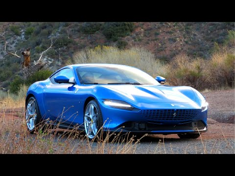 The Ferrari Roma is a 612 HP GT Stunner That Demands You Do The Shifting Yourself - Two Takes
