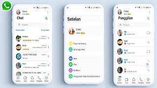 Download lagu Cara Ubah Tampilan Whatsapp Menjadi Seperti Iphone xs/IOS Terbaru 2019