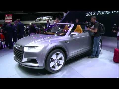 Audi Crosslane concept at the 2012 Paris Motor Show - Auto Express