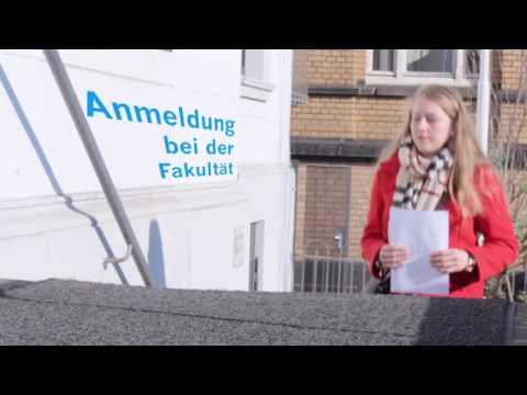 Erste Schritte zur Promotion an der Uni Bonn