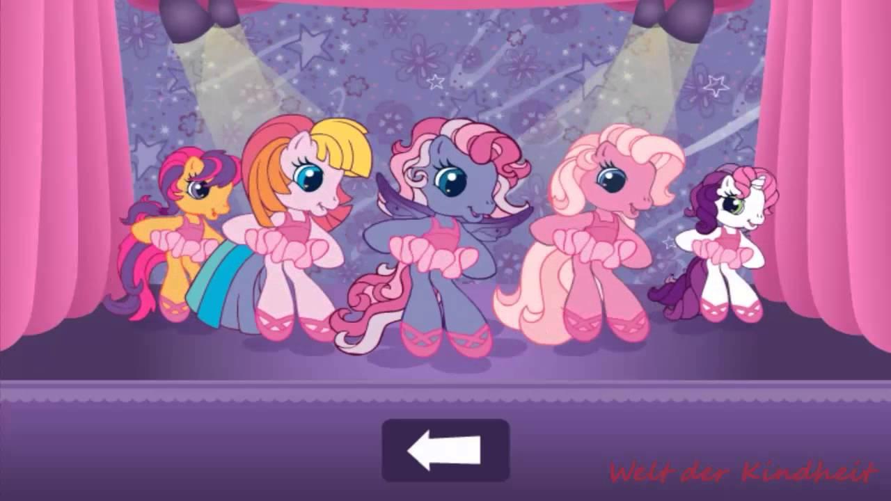 Mein kleines Pony Deutsch Tanzen se Pony  YouTube