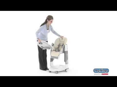 2011 High Chair – Peg Perego Tatamia – How to Remove the Tray