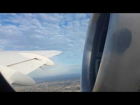 4K Fokker 100 Alliance Airlines take off Brisbane