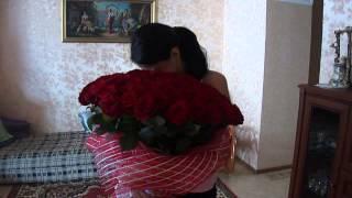 101 роза в подарок. Доставка цветов и подарков Новороссийск: www.podarok-nvr.ru(, 2014-07-03T21:42:15.000Z)