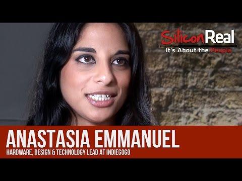 Anastasia Emmanuel -  Indiegogo   Silicon Real