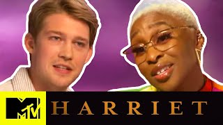 Harriet's Cynthia Erivo & Joe Alwyn Would Star in a Musical With Monáe & Swift | MTV Movies