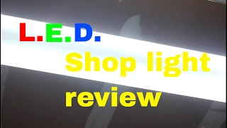 LED shop light review (Lights of america led shop light)