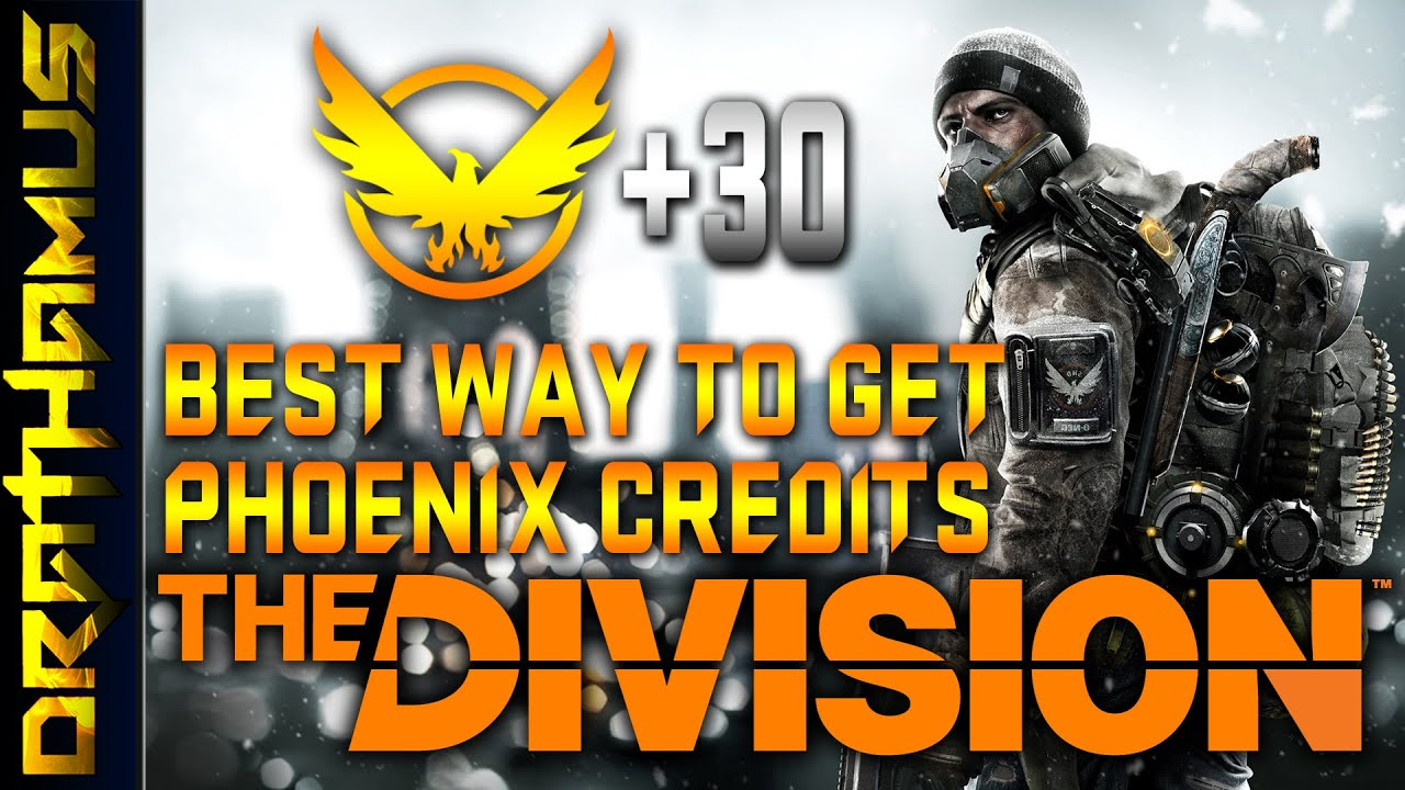 the division how to get phoenix credits solo