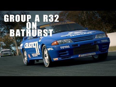 Group A R32 Skyline at Bathurst   Project Cars 2 Cinematic