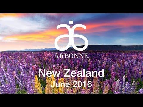 Arbonne Lands in New Zealand