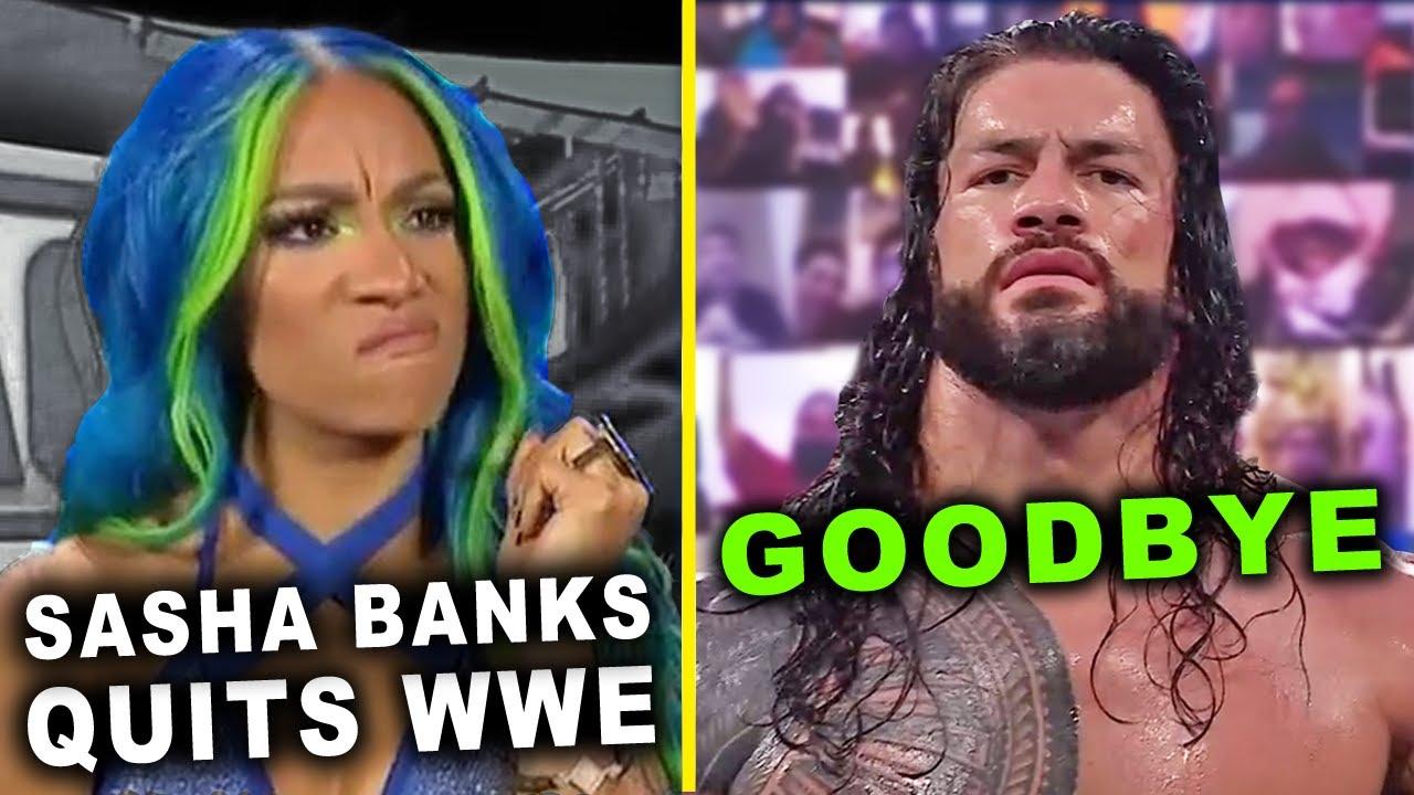 Sasha Banks QUITS WWE & Roman Reigns Retires - WWE