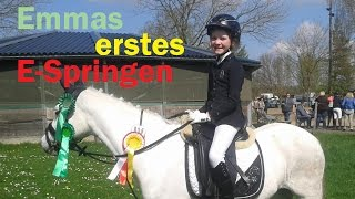 Emmas Ponywelt - Emmas erstes E-Springen