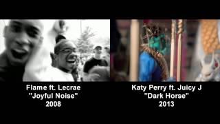 "Flame ""Joyful Noise"" vs Katy Perry ""Dark Horse"" Mashup"