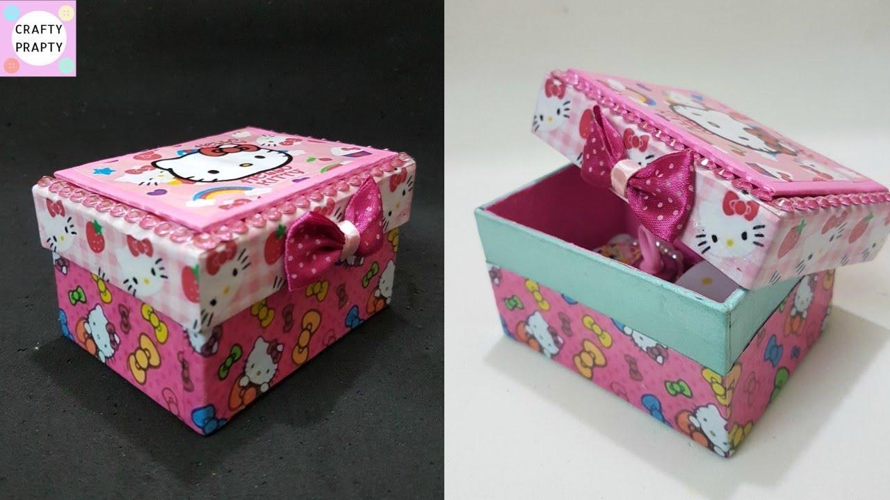 Diy O Kitty Jewelry Box Desk Organizer