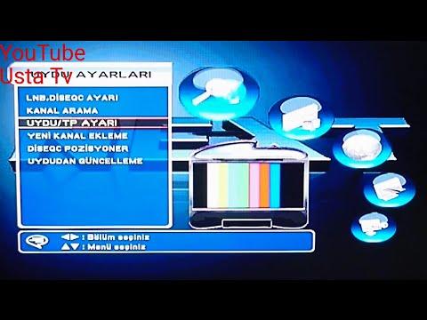 Next Ye uydu alıcı kanal arama ve kanal taşıma