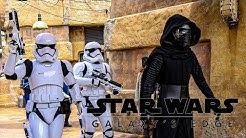 Kylo Ren Patrols Black Spire Outpost  Star Wars Galaxy's Edge