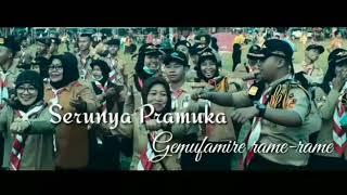 Keseruan di Apel Besar Hari Pramuka ke 56 Thn 2017 tk Daerah Lampung