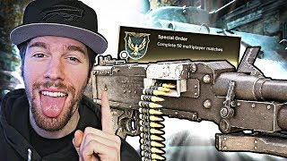 "UNLOCKING ""GPMG"" DLC WEAPON! (Call of Duty WW2 Multiplayer Gameplay)"