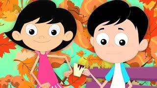 เพลงฤดูใบไม้ร่วง | เพลงสัมผัส | บทกวีก่อนวัยเรียน | Autumn Song | Song For Toddlers | Baby Rhymes