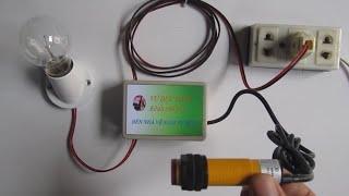hướng dẫn mạch đèn nhà vệ sinh tự động _ kênh chế tác _ how to make auto lamp wc
