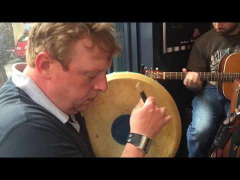 Traditional Irish Music, and some dancing, in Cork, Ireland