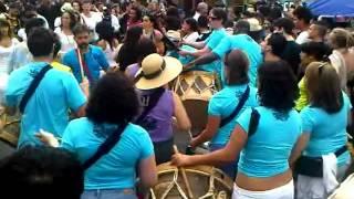 HiMY SYeD -- Mar Aberto Samba Squad Pedestrian Sunday Festival Kensington Market Toronto May 27 2012