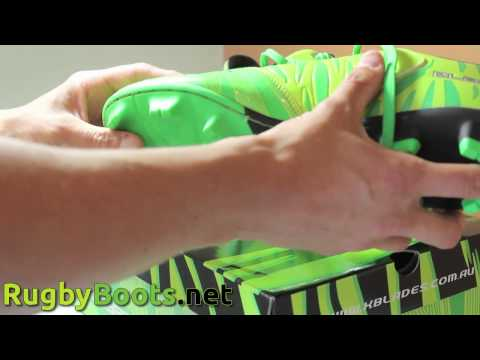 Wild Thing X-Blades Rugby Boots Unboxing