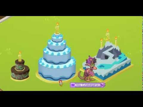 Animal Jam Birthday Cake Tricks YouTube