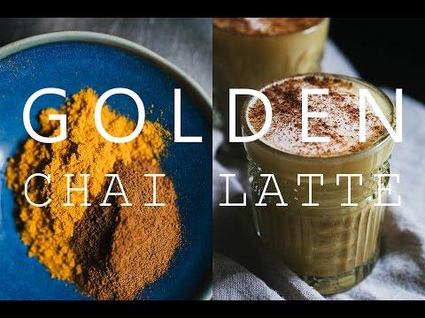 Golden Chai Latte (vegan)