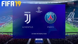"FIFA 19 - Juventus vs. Paris Saint Germain ""Champions League Final"" (Opening Match)"