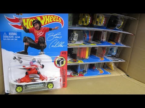 Thumbnail: 2017 L USA Hot Wheels Factory Sealed Case Unboxing Video by RaceGrooves