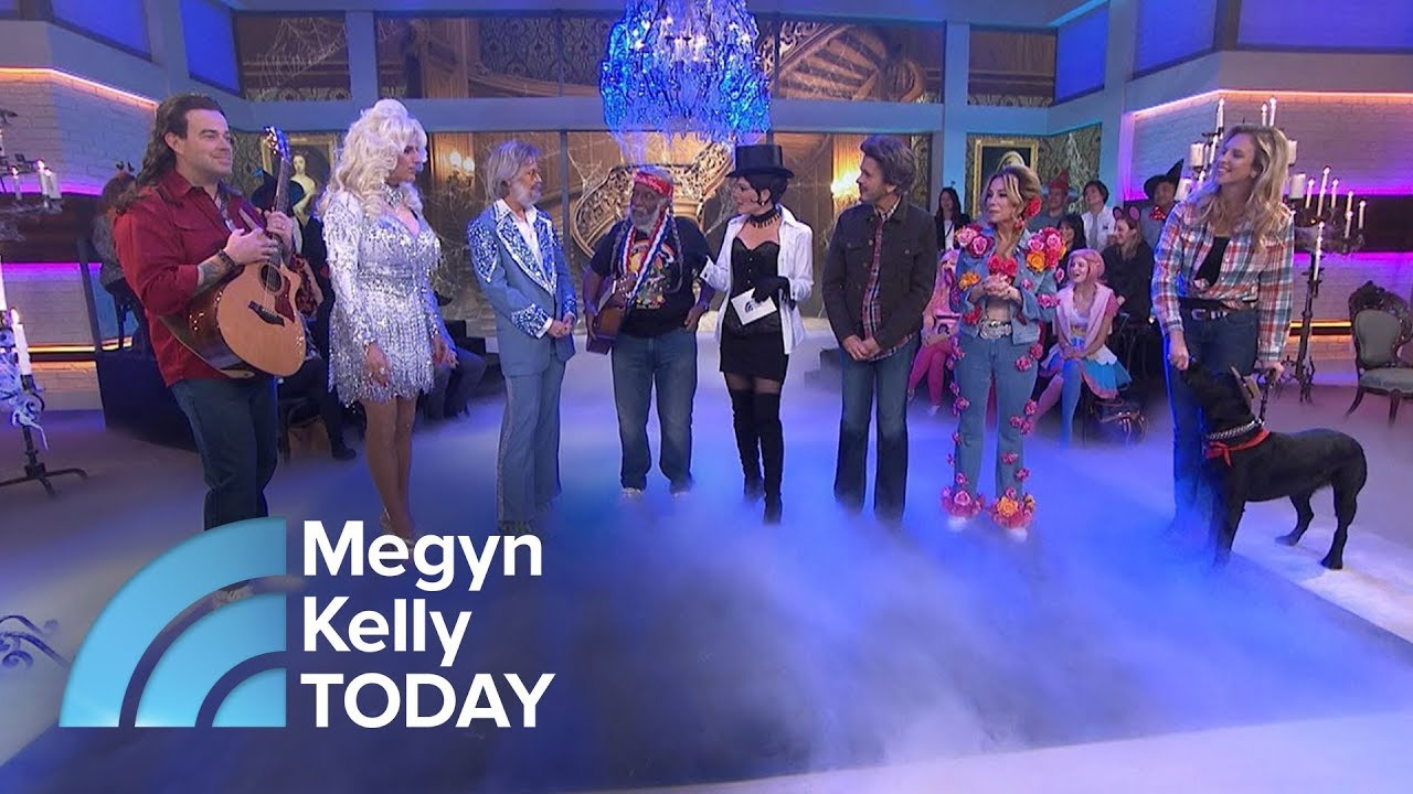 Today Halloween Costumes 2020 Megyan Kelly The TODAY Anchors In Their Country Music Star Halloween Costumes