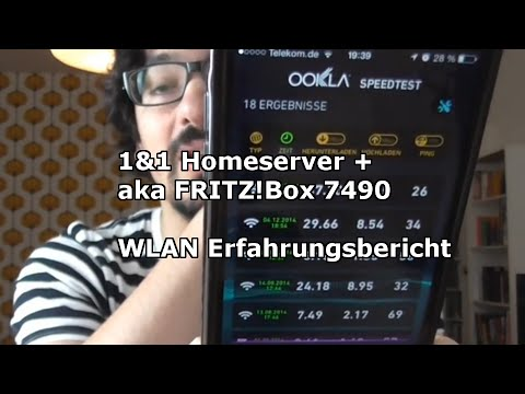 1 1 homeserver plus aka avm fritzbox 7490 wlan erfahrungsbericht youtube. Black Bedroom Furniture Sets. Home Design Ideas