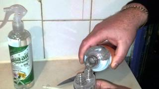 How to refill a Febreze plug-in