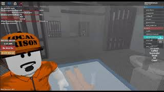 JAIL BREAK IN ROBLOX WITH ZACK IN THE GAME