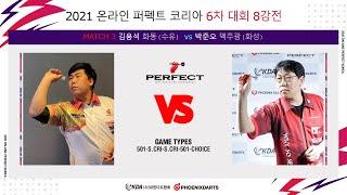 2021 온라인 퍼펙트 코리아 6차 대회 8강 김용석 …