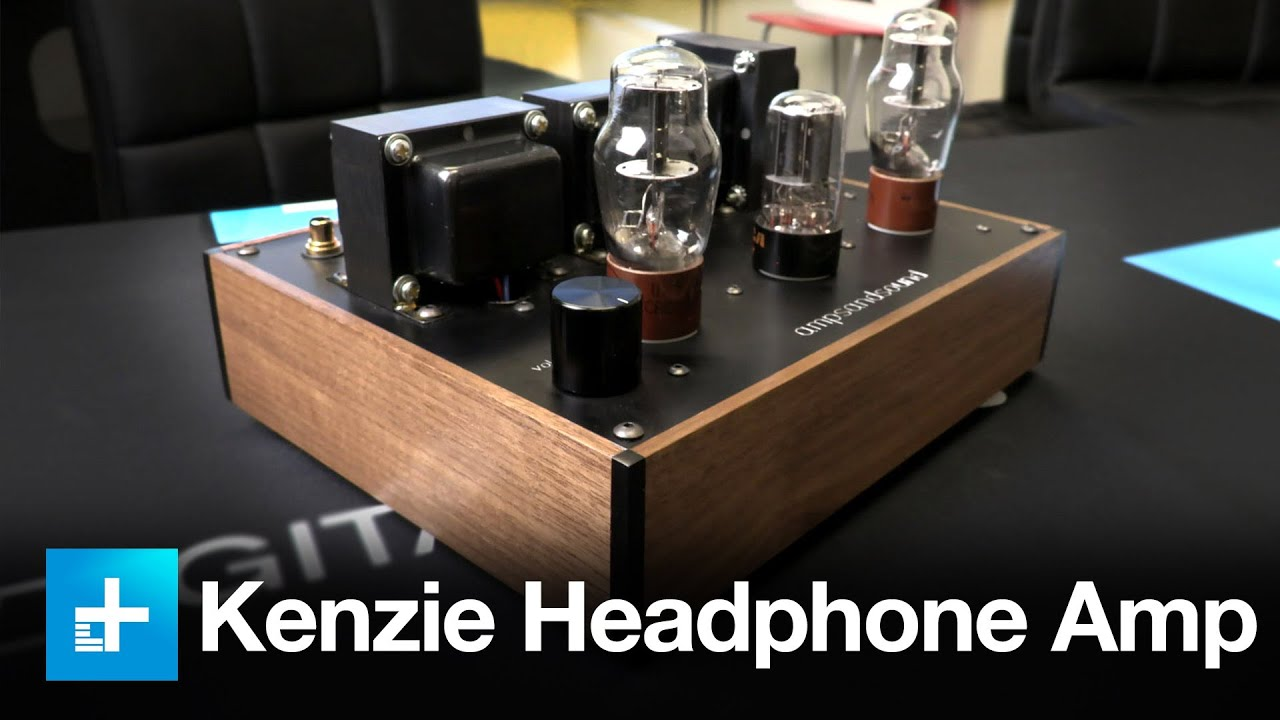 Amps and Sound Kenzie tube headphone amp review