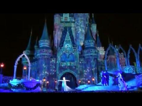 Amanda Apresenta A Frozen Holiday Wish Elsa Congela O