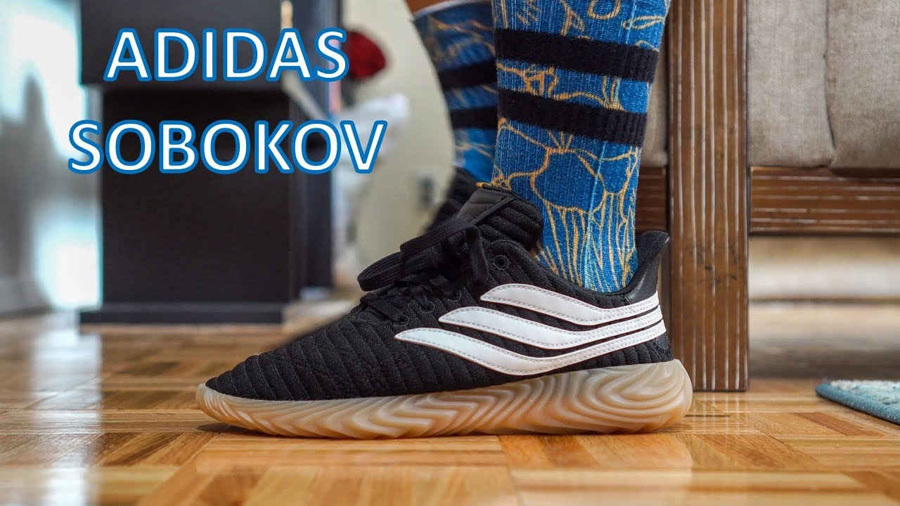 370f4e7c2880 Review - On-Feet - Adidas Sobakov Black - YouTube