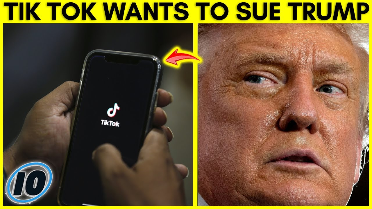 Tik Tok Threatens To Sue Trump Administration